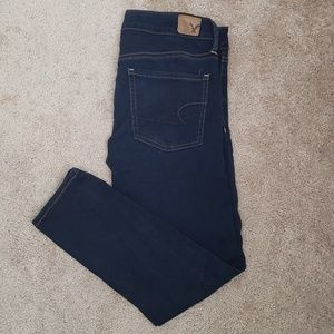 American Eagle super stretch jegging crop